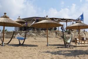 Am Strand von Issos, Korfu, Griechenland nahe der Korfu Luxusvilla Villa Maria, Chalikounas, KorfuCorfu.de
