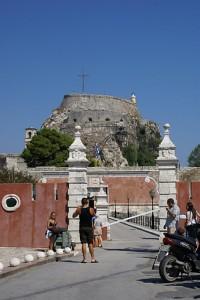 Altes Fort, Korfu, Griechenland