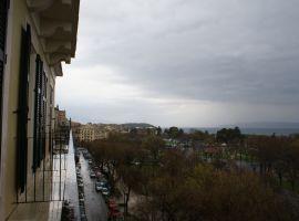 Blick in Richtung Esplanade - Hotel Cavalieri, Korfu Stadt, Korfu, Griechenland