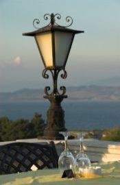 Blick von der Dachterasse - Hotel Cavalieri, Korfu Stadt, Korfu, Griechenland