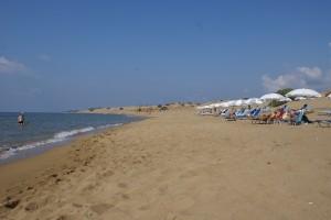 Strand von Issos, Korfu, Griechenland, Korfu Villen Gerassimos, KorfuCorfu.de